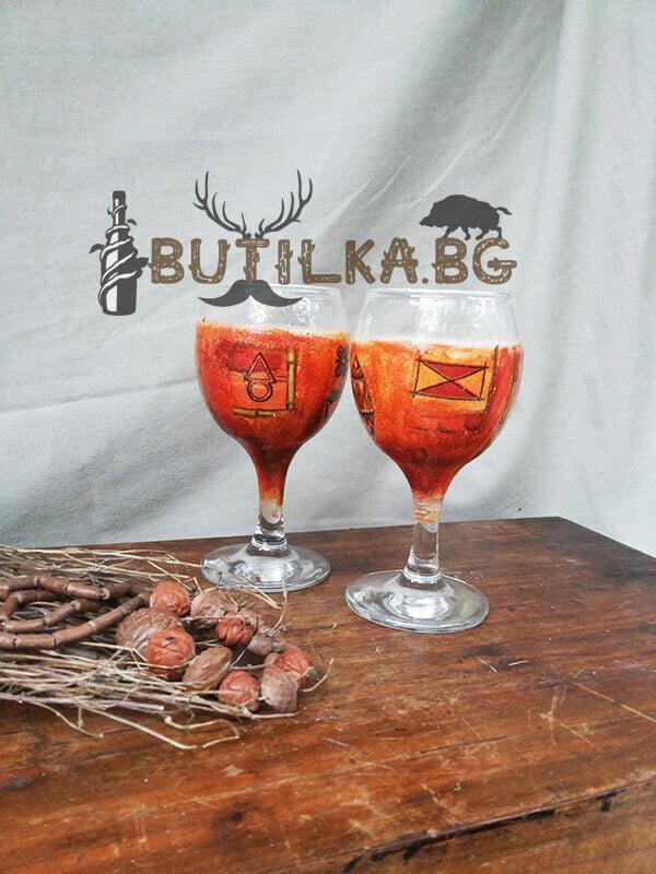 Чаши за ракия в стил Африка