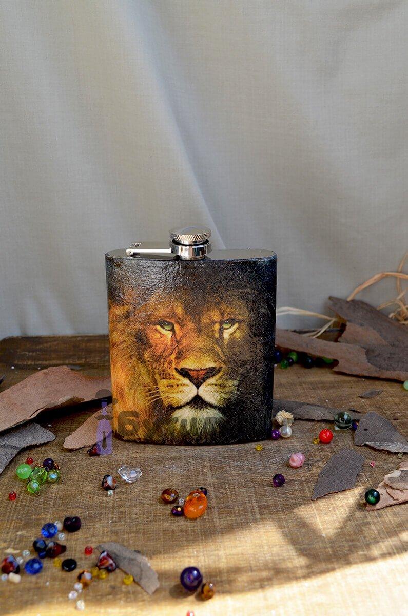 Подарък за зодия лъв - Джобна бутилка
