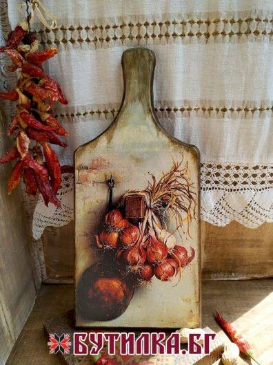 дървена дъска за рязане